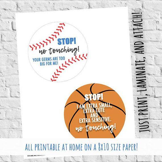 Preemie Tags Sports Baseball Basketball NICU Babies Don't