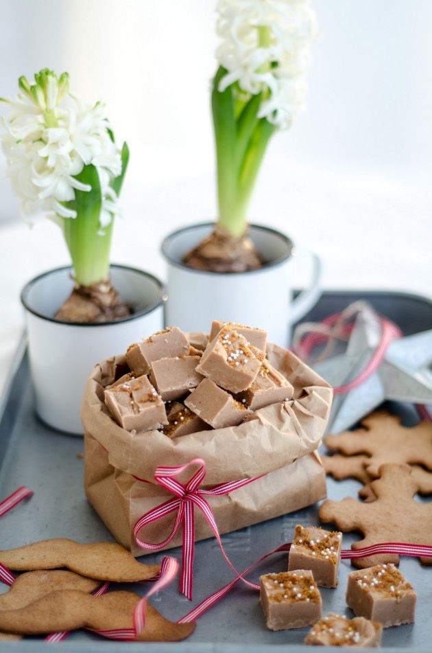 Louise´s Spis: Gingerbread Fudge (Pepparkaksfudge)