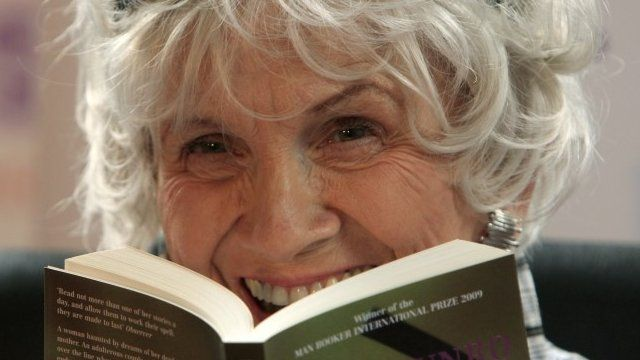 The 2013 Nobel Prize for Literature goes to Canadian author Alice Munro - only the 13th woman to win the prize since its inception in 1901.