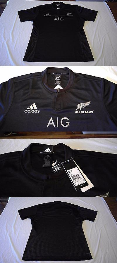 Rugby 21563: New Adidas All Blacks Rugby Jersey New Zealand Size Xl Shirt Excellent New -> BUY IT NOW ONLY: $89.99 on eBay!