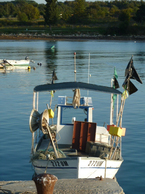 Fishing Boat at Savudrija