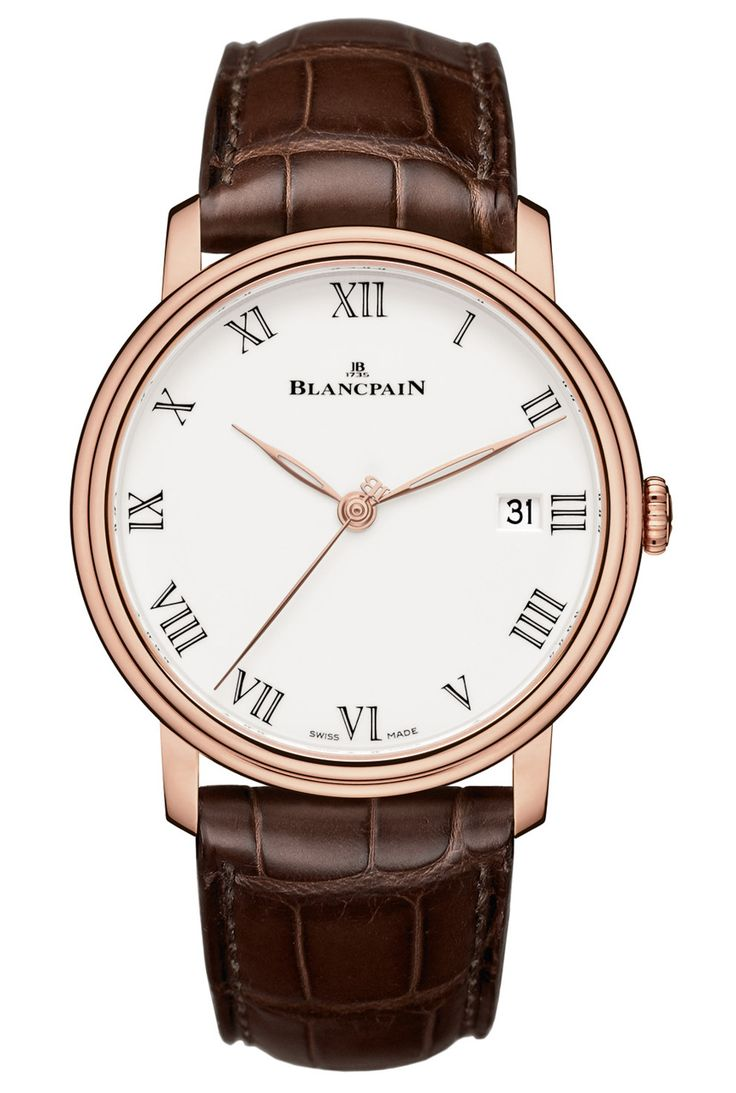 "Blancpain Villeret 2014 Watch With Enamel Dial And 8 Days Of Power: http://www.ablogtowatch.com/blancpain-villeret-2014-watch-enamel-dial-8-days-power/ ""As a pre-Baselworld 2014 announcement, Blancpain will release a lovely new dress watch simply called the Villeret, that we feel fits into that rare category of a daily-wear formal timepiece...So why is the attractive 2014 Villeret a good choice for daily use?"""