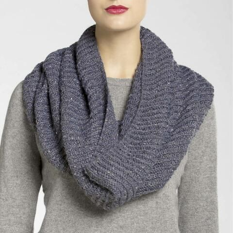Free Knitted Cowl Patterns Pinterest : Broadway Brioche Knit Cowl Knitting projects Pinterest Products, Cowls ...