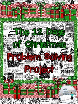 This project is sooooo fun! My students LOVED it.  So, how many gifts DID she get from her true love?   That's the mystery they solve, using critical thinking moves, close reading, and problem solving strategies.