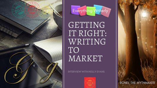 Getting it Right: Writing to Market #AtoZChallenge #ownvoices | Ronel the Mythmaker