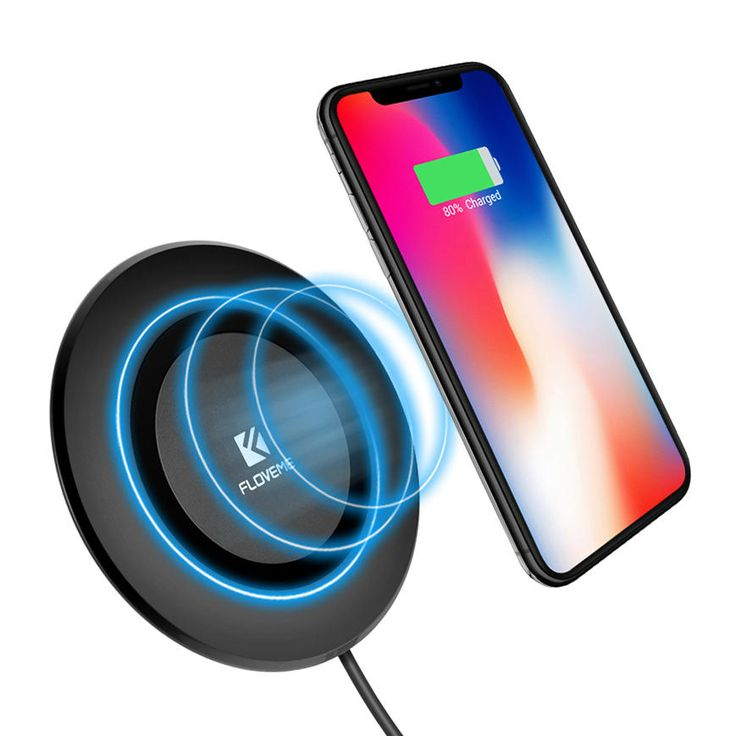 Us 15 44 Floveme 5w Qi Wireless Charger With Led Indicator Light