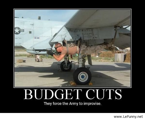 Funny Army Budget Cuts – Funny Pictures