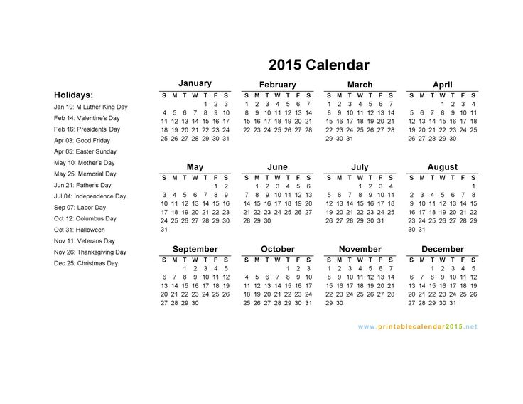 calendars are us