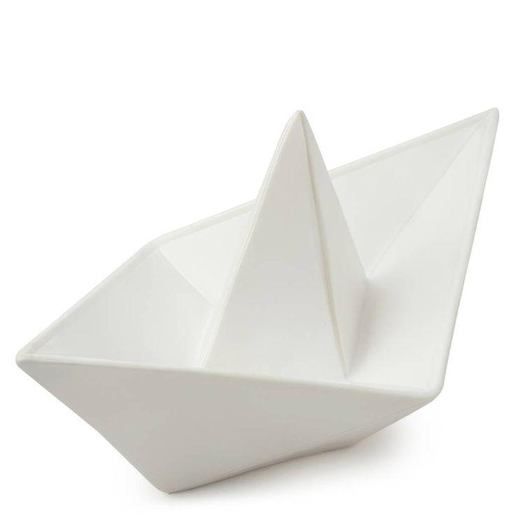 Goodnight light Lamp origami boot - Wit