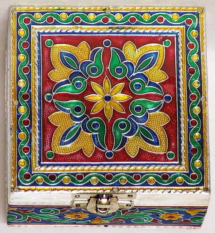 Meenakari Jewelry Box