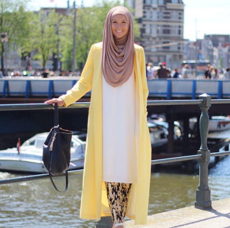 Cute summer hijabi outfit !
