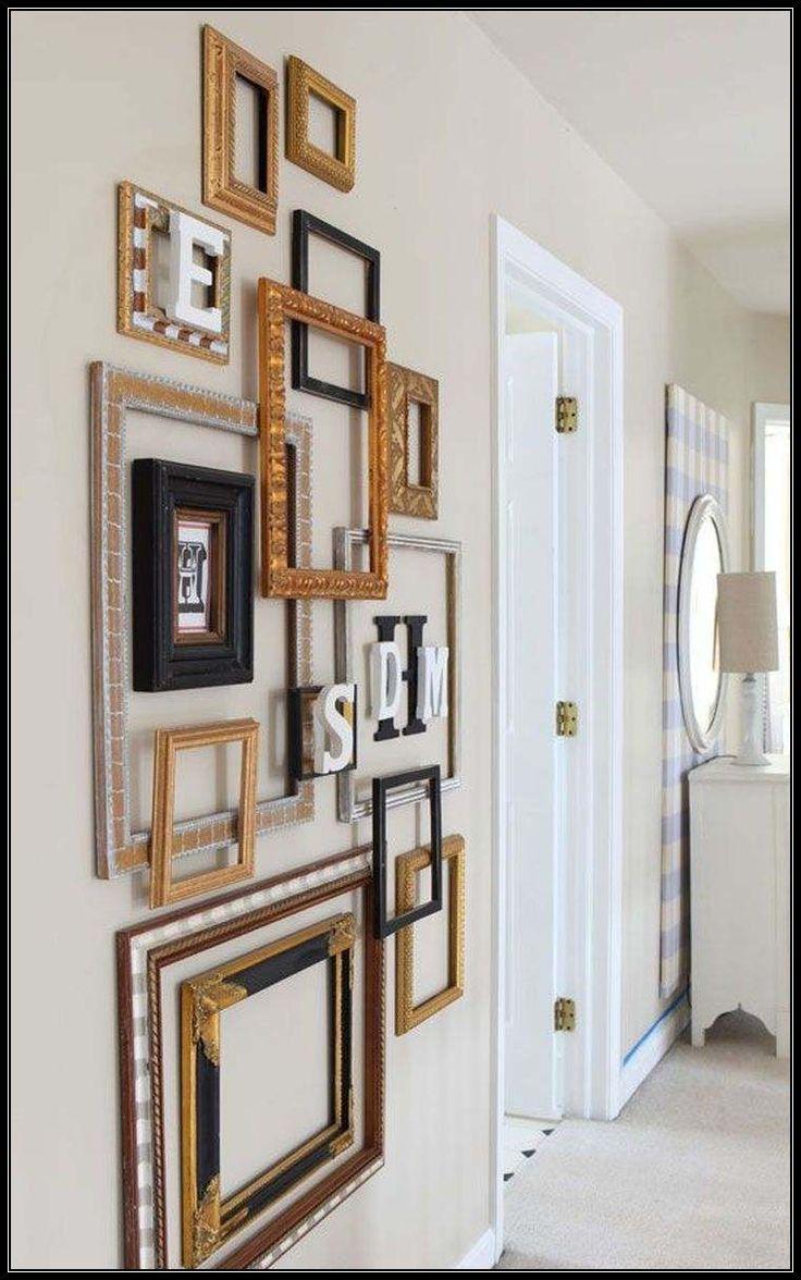 Easy Diy Tutorial Gallery Wall With Ikea Ribba Frames Gallery