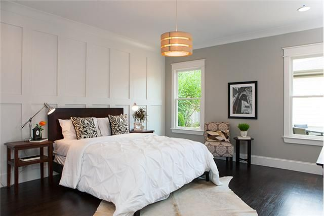 Wall Paneling Behind Bed Bedrooms Pinterest Home
