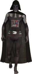 DARTH VADER SKIN SUIT ADULT L. ALSO IN MEDIUM ON WEBSITE. Click Picture to Purchase.