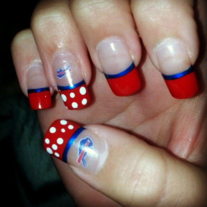 Buffalo Bills Nails!!!