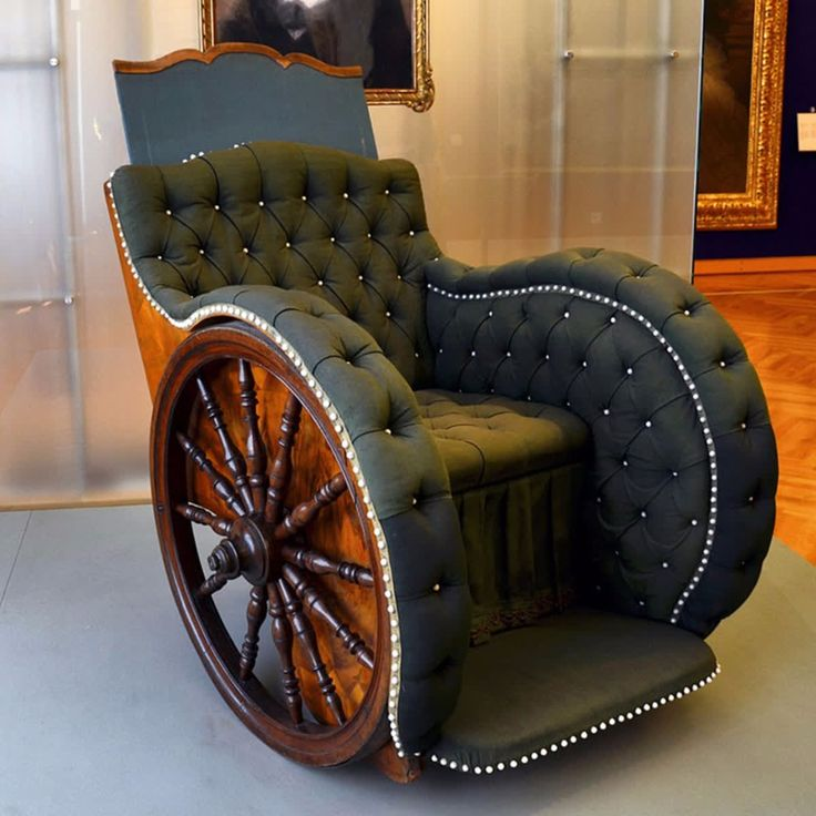 Wheelchair tip: mild soap and water can be used to clean your wheelchair's upholstery. Stretched and damaged upholstery can cause pain, poor posture and injury. If you have adjustable upholstery, mark the straps with a crayon so that it is apparent when they have slipped.