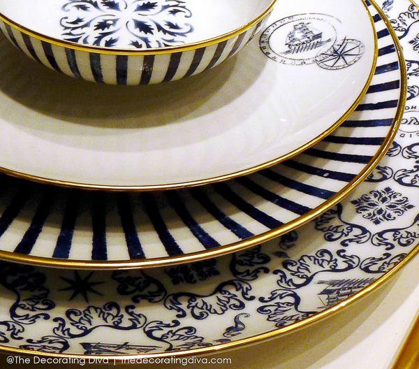 Brunno Jahara's Transatlantica Fine Porcelain Dinnerware for Vista Alegre: Crockery, La Tables, Porcelain Dinnerware