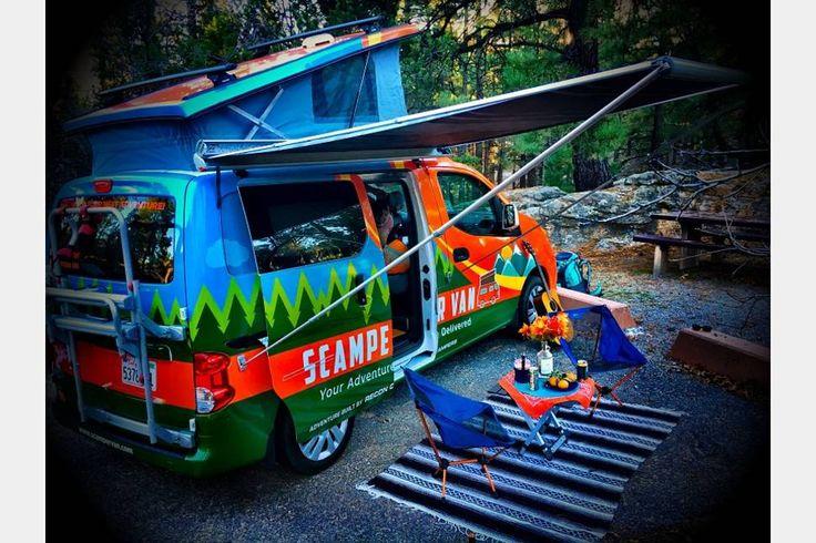 2016 Nissan NV Campervan - Scamper Van