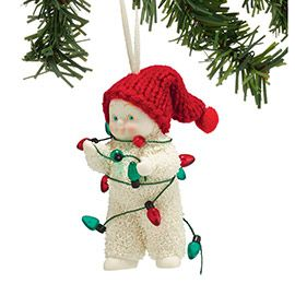 """Department 56: COLLECTING - """"Get Lit Ornament"""" - New Introductions"""