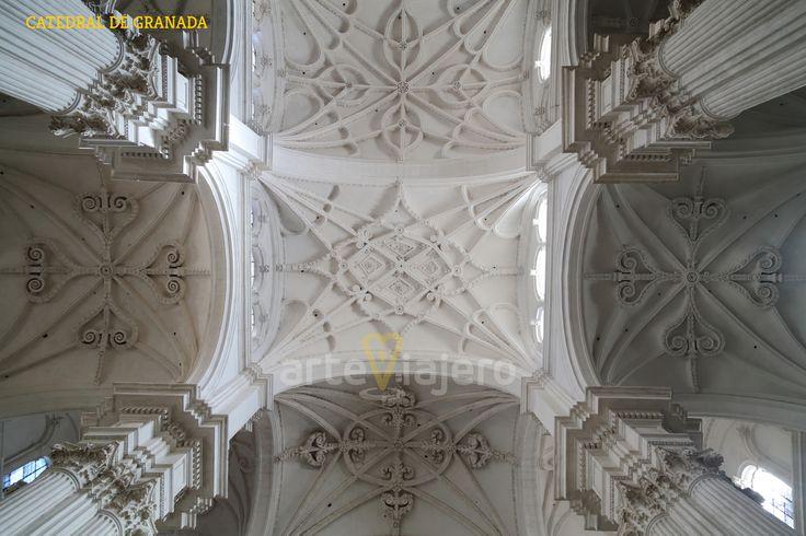 Bóvedas de la Catedral de #Granada http://arteviajero.com/
