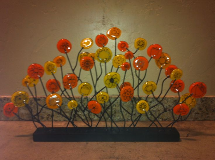 Fused Glass Flower Tutorials