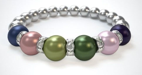 Check out my Mothers Bracelet! What does yours look like? Design a bracelet in just 3 easy steps! Just $29.95