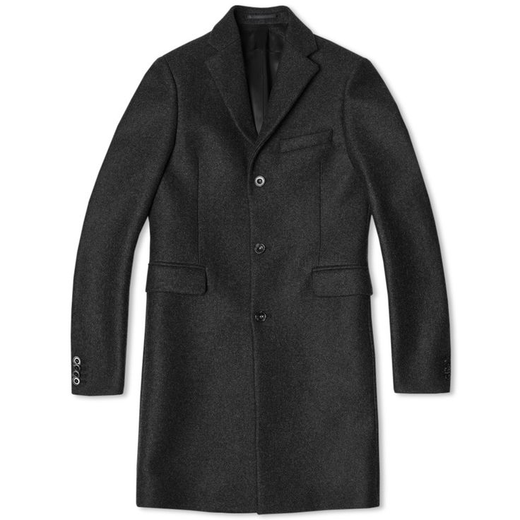 ACNE Studios // Garret Dark Grey Coat