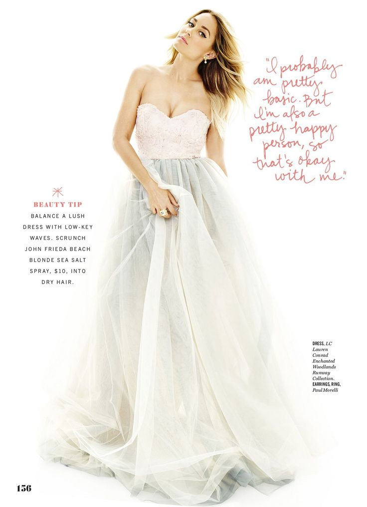 Wedding dress like lauren conrad