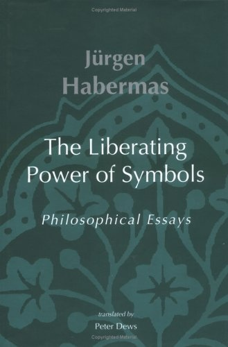 jurgen habermas essays After writing the theory of communicative action, habermas expanded upon  the theory of communicative action was the subject of a collection of critical essays.