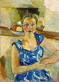 Lina Bryans : Portrait of Nina Christesen