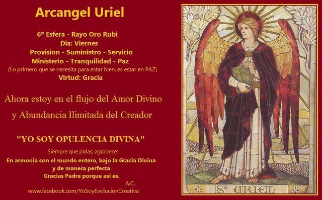 Arcangel Uriel - Sexto Rayo - Viernes