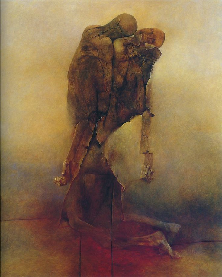Zdzisław Beksiński  MLL - Loss cannot be described only experienced and felt.
