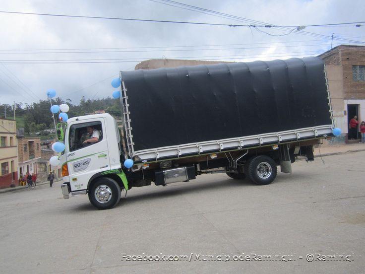 Concurso nacional de camiones turbos y en pique en Ramiriquí