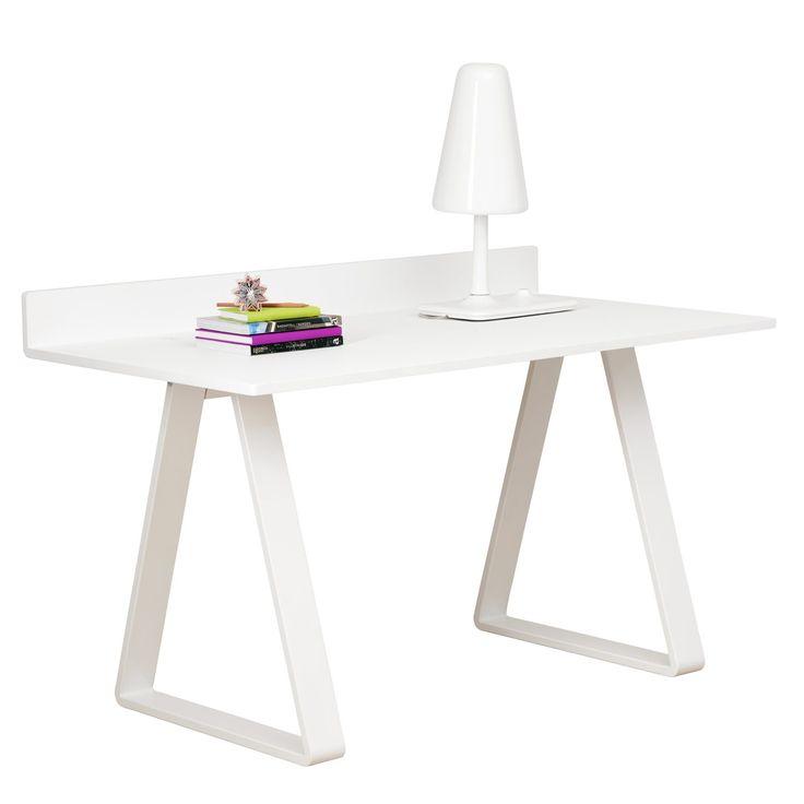 Bermuda skrivbord, vit – Asplund –
