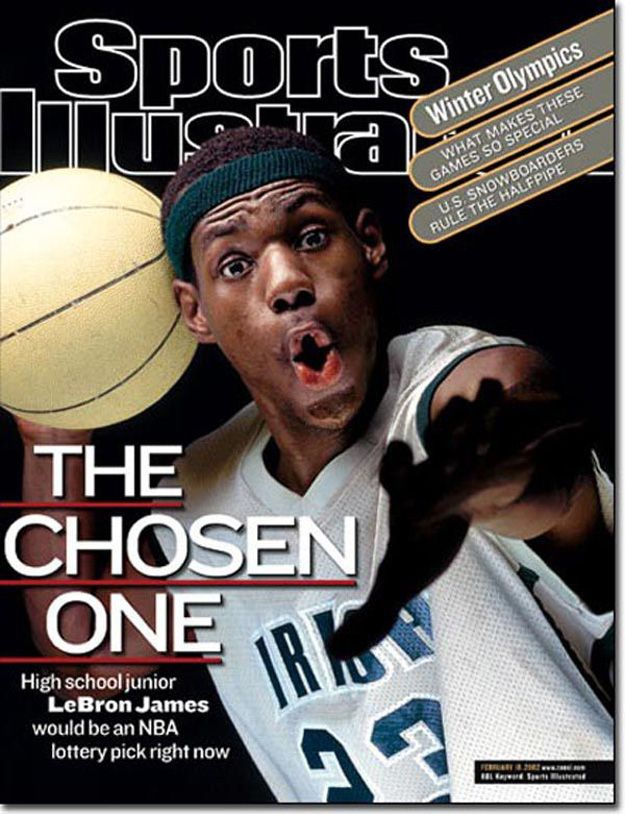 LeBron unsuccessfully petitioned to be allowed to declare for the NBA Draft after his junior year of high school. | 21 Things About LeBron James That Will Surprise You                                                                                                                                                                                 More