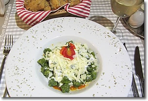 Vegetarian Ravioli, Café Mese, Sirkeci, Istanbul, Turkey