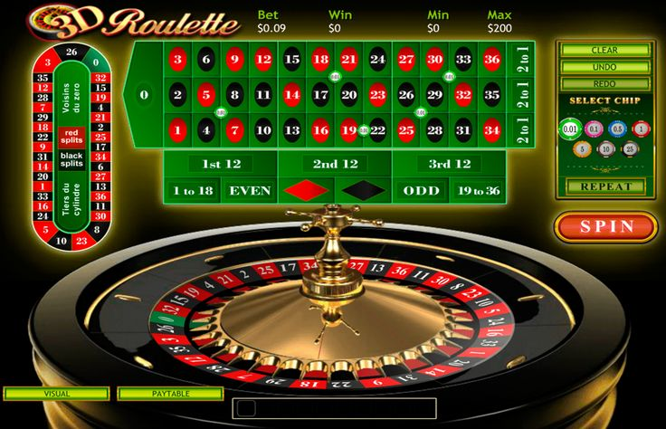 3D Roulette is a proud part of the Playtech developer that unites fans from all over the world. Here you will be playing in the European online roulette variant with 37 pockets on the wheel and the betting options that range from 0,01 to 400 credits. Gather all your luck and simply bet on the one that will bring you wins.