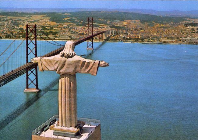 Cristo Rei, Ponte 25 de Abril, Lisboa