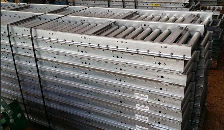 Used Roller Conveyors 10 ft lonf - 18 and 24 in wide