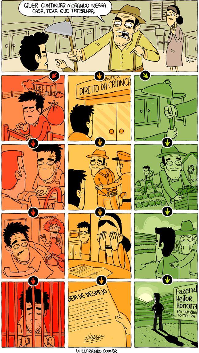 Satirinhas - Quadrinhos, tirinhas, curiosidades e muito mais! - Part 513