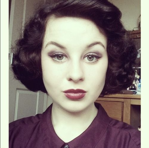 17 Best Images About Vintage And Rockabilly Hairstyles For