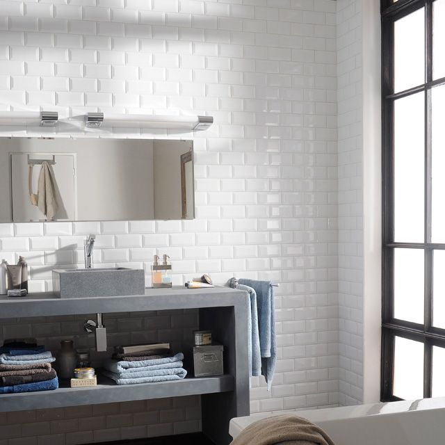 les 116 meilleures images propos de salle de bains sur pinterest. Black Bedroom Furniture Sets. Home Design Ideas