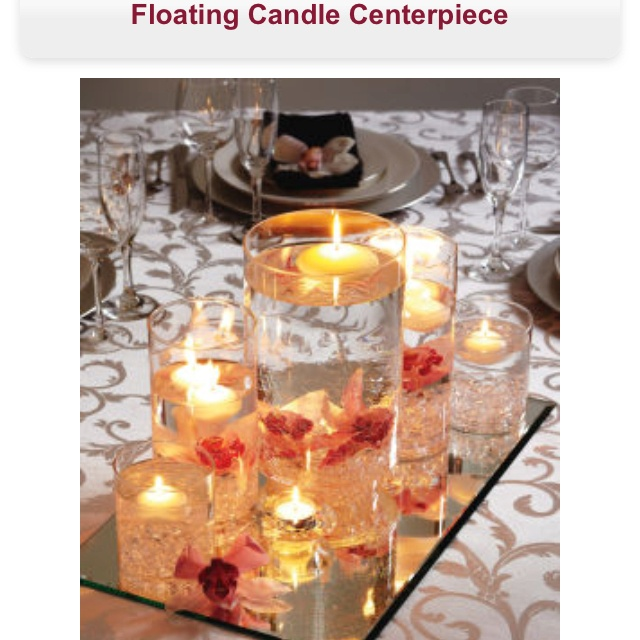 Floating Candle Centerpiece Tutorial : Best wedding ideas images on pinterest decorating