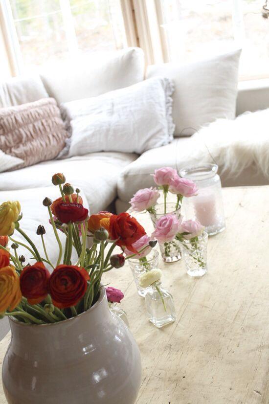 Blomster på Kina-bordet, sofabord