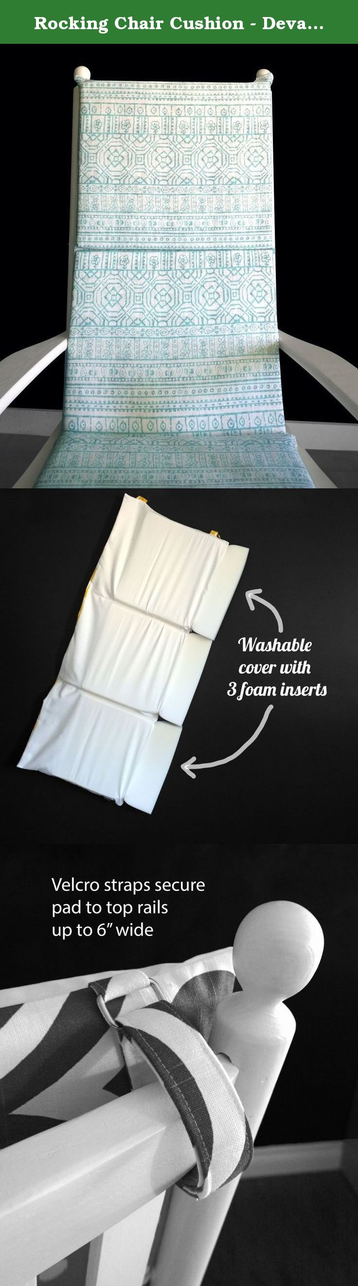 1000 ideas about rocking chair pads on pinterest diy seat pads chair pads and kitchen chair pads - Rocking chair cushion diy ...