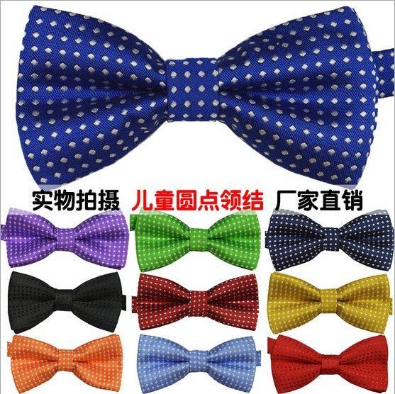 Бабочка gravata ну вечеринку галстук-бабочка свадьба галстук-бабочка для мальчики конфеты цвет dot узор дутый для дети