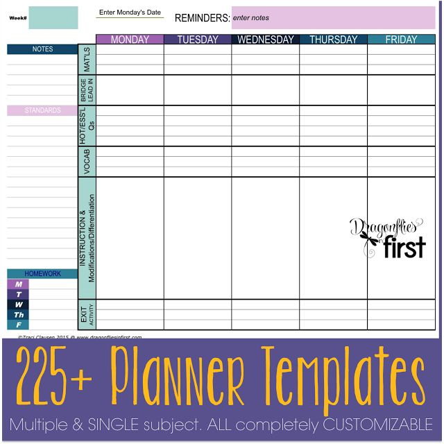 137 Best Lesson Planning Images On Pinterest | Organized Teacher