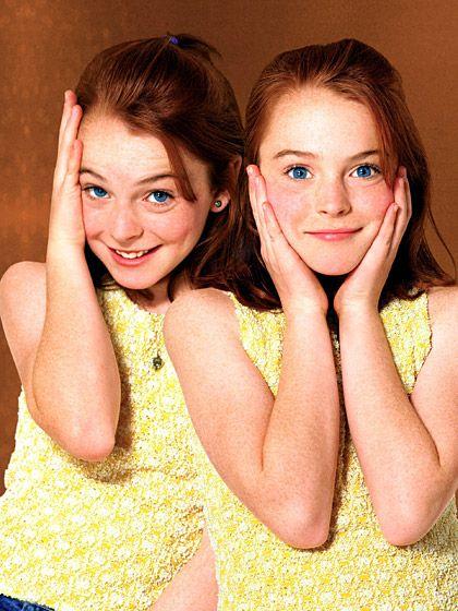 Lindsay Lohan Parent Trap 1998.