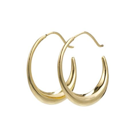 Parthian hoop earrings (gold) at British Museum shop online