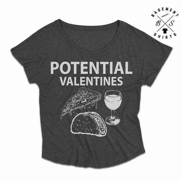 Valentines Day Shirt Funny Valentine Shirt Food Shirt Single Af... ($15) ❤ liked on Polyvore featuring tops, red, t-shirts, women's clothing, checkered shirt, digital shirts, thin shirt, red dolman top and red checkered shirt